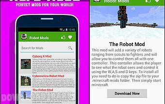 Robot mods for mcpe