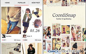 Fashion styles coordisnap