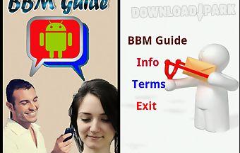 How to use bbm app