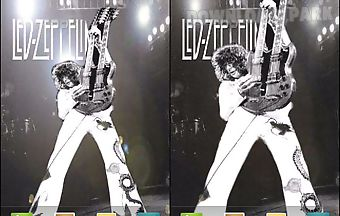Led zeppelin jimmy page live wal..