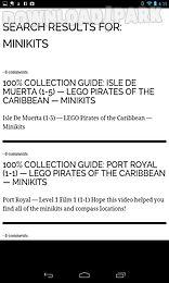 lego pirates walkthroughs
