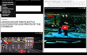 Lego pirates walkthroughs