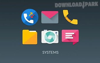Materialistik icon pack extra
