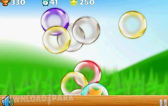 Ninja vs bubbles