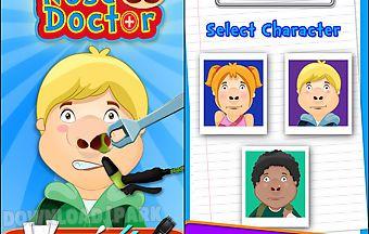 Nose hospital - doctor games