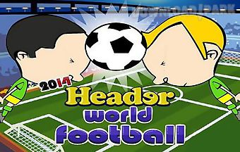 World football 2014. header worl..