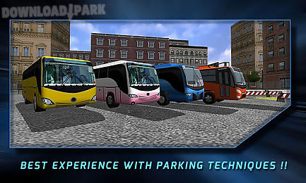 3d bus parking simulation game