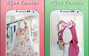 Cute hijab fashion suit