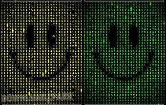 Digital smile live wallpaper