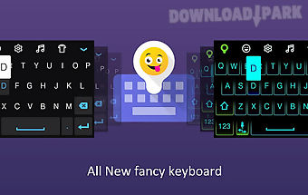 Fancy keyboard : emoji & neon