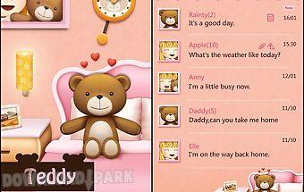 Go sms pro teddy theme ex