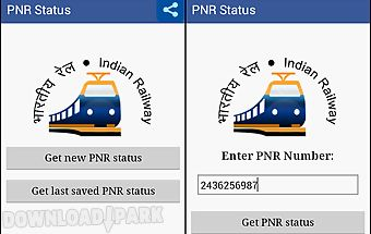 Pnr status app indian railway