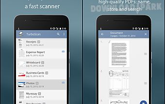 Turboscan: pdf scanner