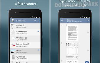 Turboscan: pdf scanner