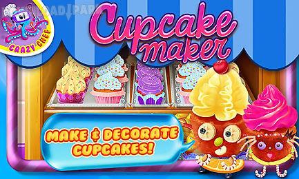cupcake maker crazy chef