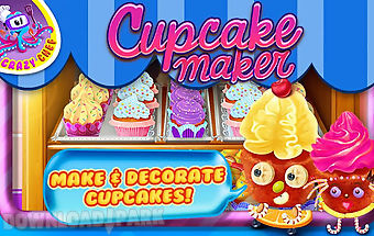 Cupcake maker crazy chef