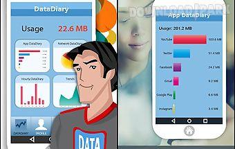 Datadiary – data usage monitor