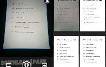 Pdf scanner:document scan+ ocr