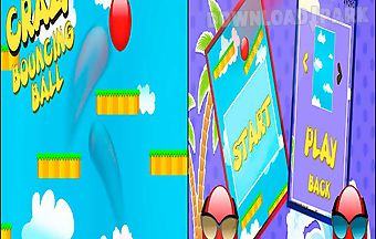 Crazy bouncing ball - android