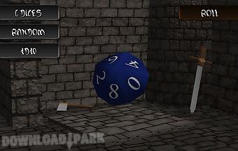 Fantastic board dices 3d