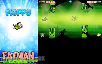 Flappy fatman - new flappy bird ..