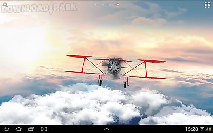 flight in the sky 3d