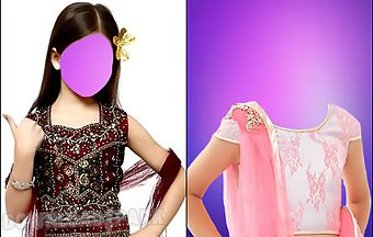 Indian girl kids wear