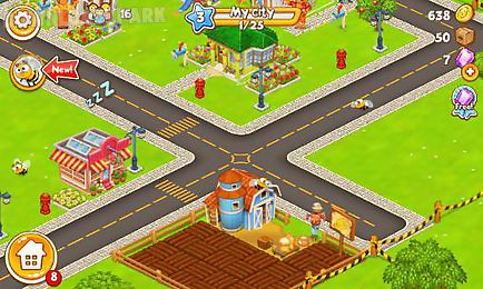 megapolis city: village to town