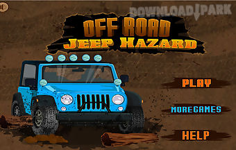Off road jeep hazard