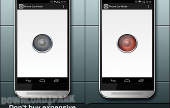 Phone car mode