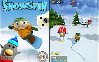 Snow spin: snowboard adventure