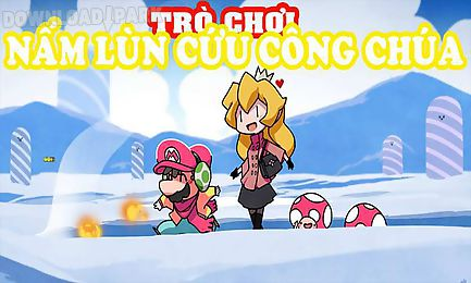 super mario rush and surf snow save his princess