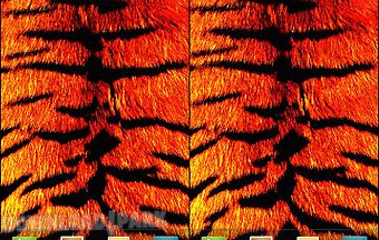 Tiger print live wallpaper