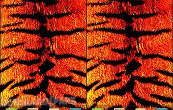 Tiger print live wallpaper
