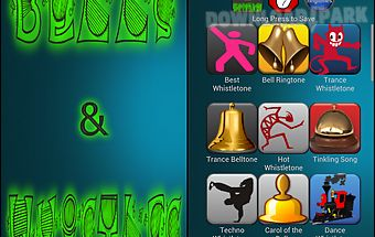 Bells and whistles ringtones