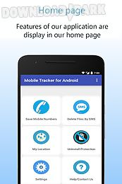 mobile tracker for android