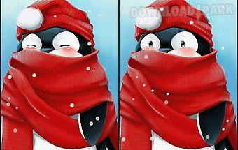 Winter penguin wallpaper free