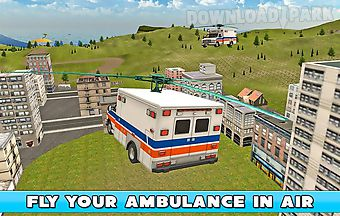 Flying ambulance simulator 3d