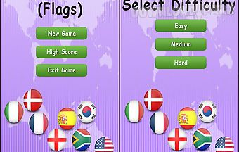 Memory game flags - free