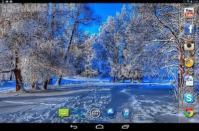 live winter wallpaper for android