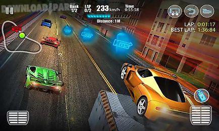 racing in city 3d