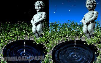 Funny fountain live wallpaper