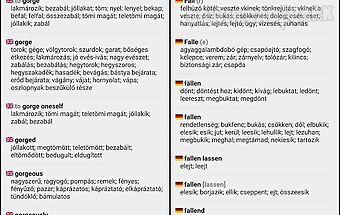 Hungarian dictionary 🇭🇺