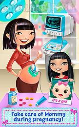 my newborn baby sister
