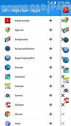 side apps bar - edge sidebar
