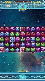 galactic burst: match 3 game