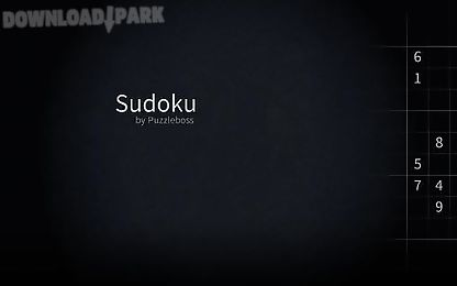 sudoku for tablets by puzzleboss