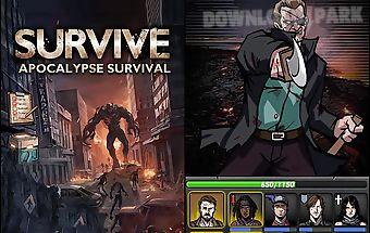 Survive: apocalypse survival