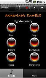 annoying sounds & noises
