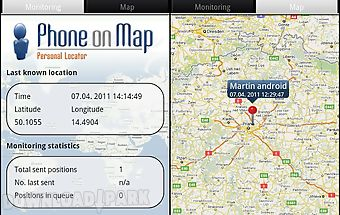 Cell phone gps tracker